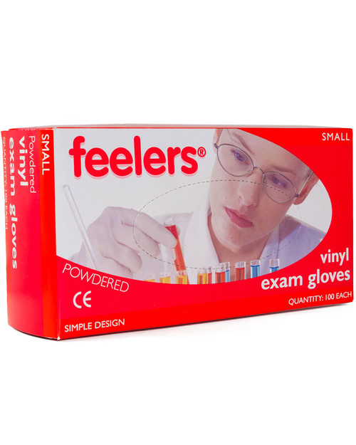 Powdered Vinyl Gloves 100 Pack | Physical Sports First Aid