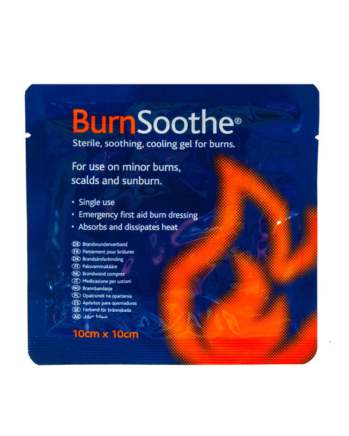 Burnsoothe Dressing Pack Shot | Physical Sports First AId