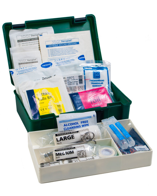 Home First Aid Kit with Lift-Out Tray | Physical Sports First Aid