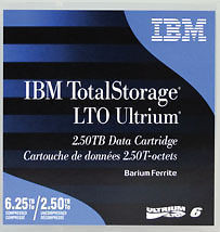 IBM 00V7590 LTO-6 ULTRIUM 2.5 TB - 6.25 TB TAPES IBM WARRANTY 20 PACK NEW