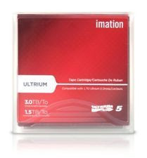 IMATION LTO5 27672 1.5TB/3.0TB TAPES LTO-5 IMATION 5 PACK NEW