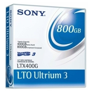 SONY LTX400GWW LTO3 400GB 800GB TAPES 20 PACK NEW