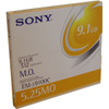 SONY EM59100CWW  9.1GB 512 B/S REWRITE OPTICAL EM-59100C 5 PACK NEW
