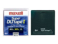 MAXELL SDLT 183700 160/320GB TAPES 5 PACK NEW