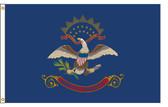 North Dakota 3'x5' Nylon State Flag 3ftx5ft