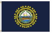 New Hampshire 4'x6' Nylon State Flag 4ftx6ft