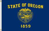 Oregon 4'x6' Nylon State Flag 4ftx6ft