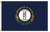 Kentucky 5'x8' Nylon State Flag 5ftx8ft