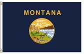 Montana 5'x8' Nylon State Flag 5ftx8ft