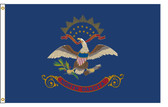 North Dakota 5'x8' Nylon State Flag 5ftx8ft