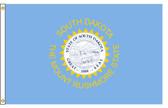 South Dakota 5'x8' Nylon State Flag 5ftx8ft