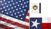 Perma-Nyl 5'x9 1/2' Nylon U.S. Flag By Valley Forge Flag