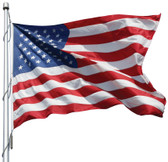 American Flag 8x12 Ft 2-Ply Polyester Presidential Series Sewn 8'x12' US Flag
