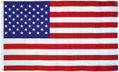 American Flag 3x5 Ft Cotton Presidential Series Sewn 3'x5' US Flag