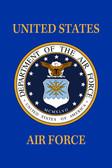 US Air Force 18inx12in Nylon Garden Flag
