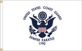 US Coast Guard 4ftx6ft Nylon Flag