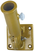 1 Inch Gold Painted Aluminum Adjustable Flag Pole Bracket