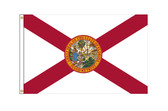 Florida 6'x10' Nylon State Flag 6ftx10ft