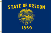 Oregon 6'x10' Nylon State Flag 6ftx10ft