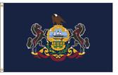 Pennsylvania  6'x10' Nylon State Flag 6ftx10ft