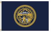 Nebraska 8'x12' Nylon State Flag 8ftx12ft