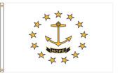 Rhode Island 8'x12' Nylon State Flag 8ftx12ft