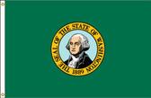 Washington 8'x12' Nylon State Flag 8ftx12ft