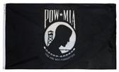 POW MIA Perma-Nyl 3'x5' Nylon Double Seal Flag By Valley Forge Flag
