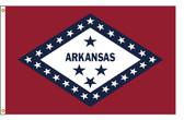 Arkansas 3'x5' Nylon State Flag 3ftx5ft