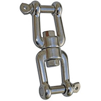 "Swivel - 1/2"" Jaw by Jaw SS"