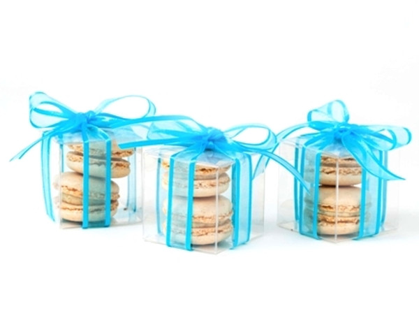 Favor Box - 2 Macarons