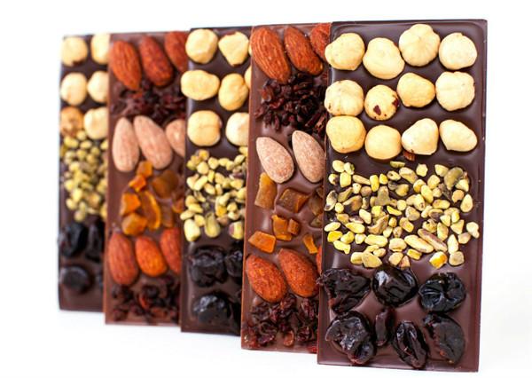 15% OFF 4 Chocolate Mendiant Bars