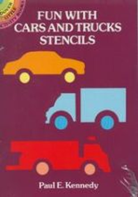 Fun With Cars & Trucks Stencils