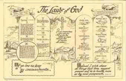 Laws of God Chart