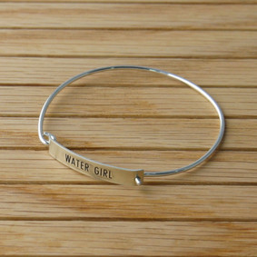 "Boating Bracelet - ""WaterGirl"" Cuff"