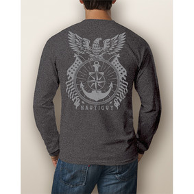 Men's Boating Long-Sleeve - NautiGuy Eagle