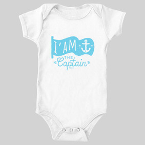 Baby Nautiboy Captain Bodysuit