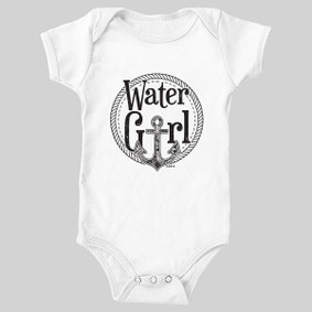 WaterGirl Rope Anchor Baby Bodysuit