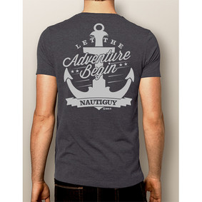 Men's Boating T-shirt - NautiGuy Adventure