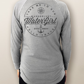 Women's Pocket Tee - WaterGirl Wanderlust