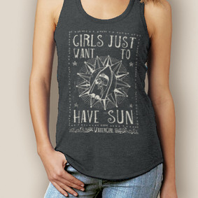 Boating Tank Top - WaterGirl Sun Premium Racerback