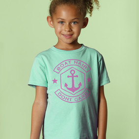 Toddler Boating T-Shirt- Boat Hair Don't Care