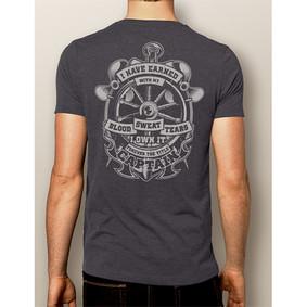 Men's Boating T-Shirt- NautiGuy Forever Captain