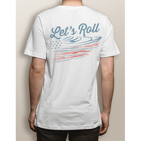 """LET'S ROLL"" Short Sleeve Comfort Colors Tee"