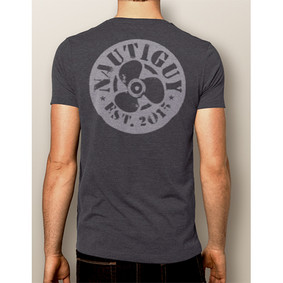 Men's Boating T-Shirt- NautiGuy Prop