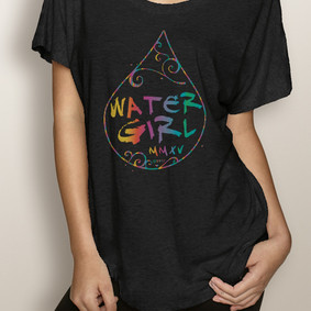 WaterGirl Boating Dolman Tee-WaterGirl WaterDrop