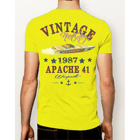 Men's Boating T-Shirt- NautiGuy Vintage 1987 Apache (More Colors)