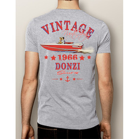 Men's Boating T-Shirt- NautiGuy Vintage 1966 Donzi (More Colors)