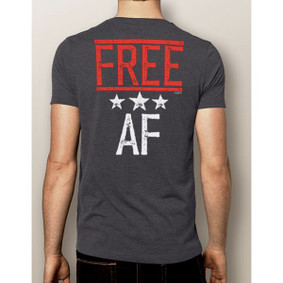 Men's Boating T-Shirt- 4th Of July Free AF Shirt