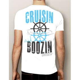 Men's Boating T-Shirt- Cruisin & Boozin